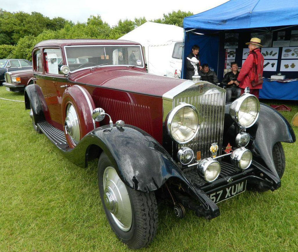 1933 sports saloon by park ward chassis 101mw rolls royce bentley daimler pinterest - Garage des vieilles anglaises ...