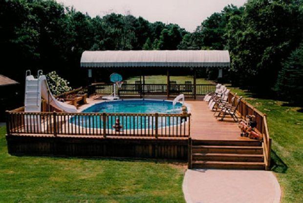 Cool Pool And Decking Swimming Pool Decks Swimming Pool Remodeling Above Ground Pool Decks