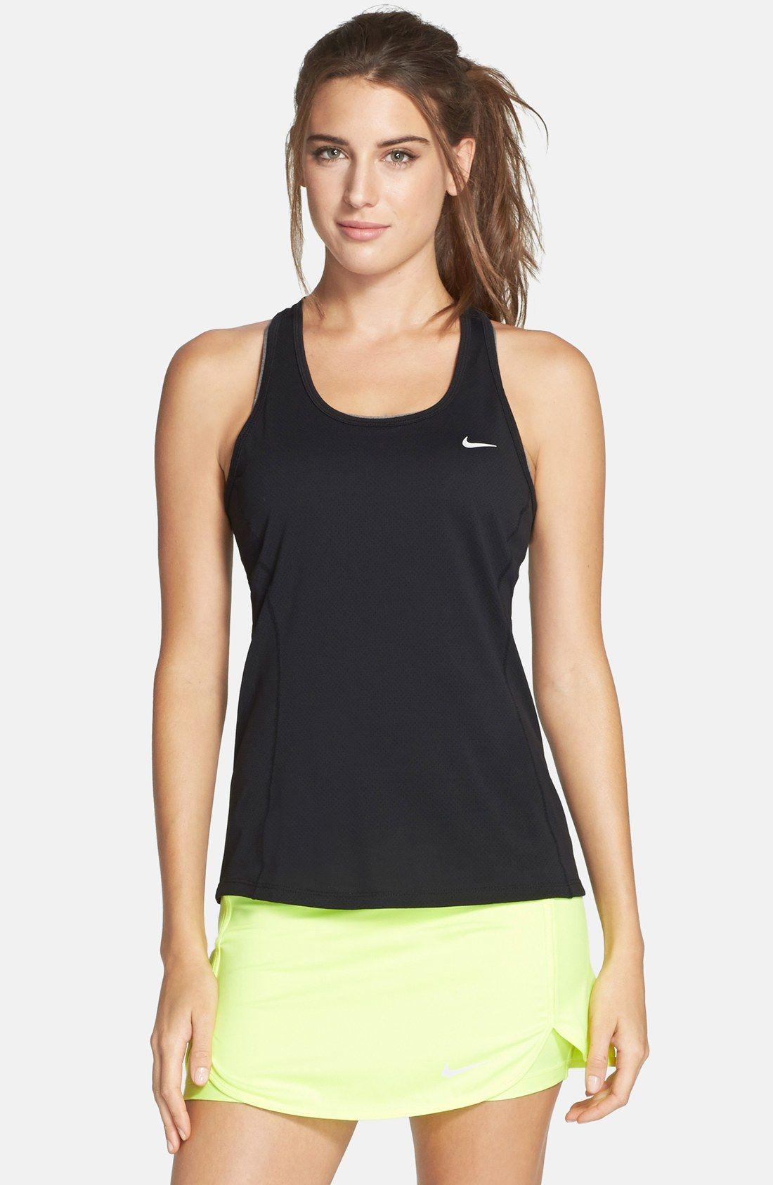 Nike contour drifit tank nordstrom running clothes