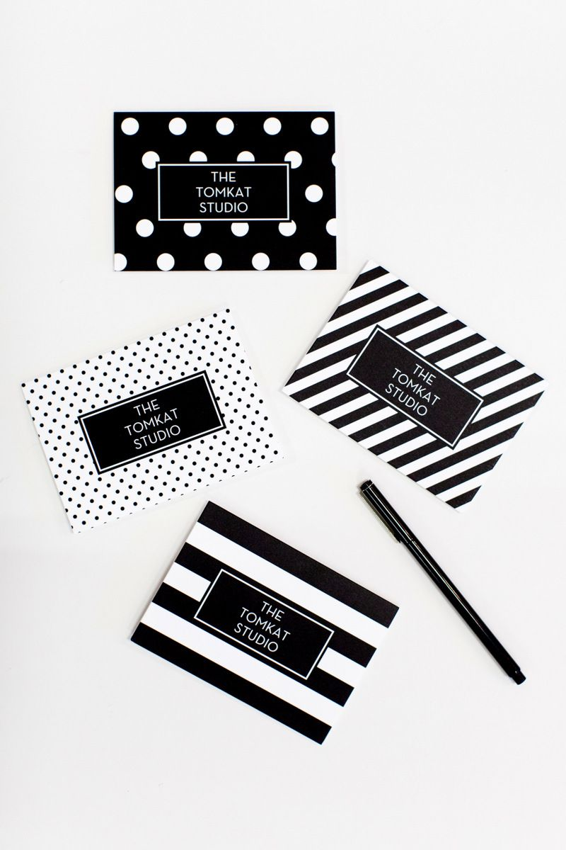 Oh My Stationery | Create, Business cards and Black