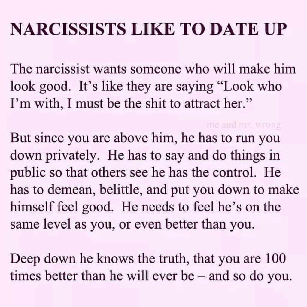 Narc dating narc