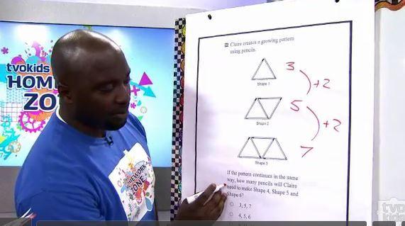Eqao Grade 3 Growing Pattern Video Lesson Tvokids Eqao