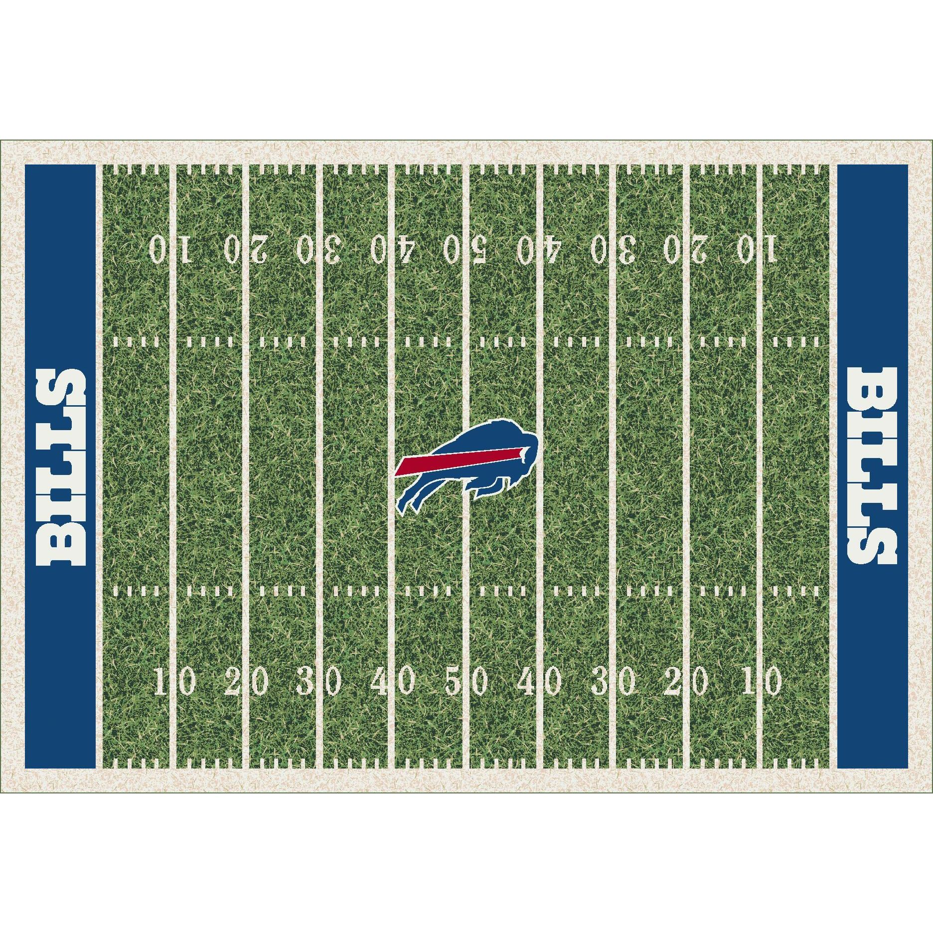 Buffalo Bills Football Rug
