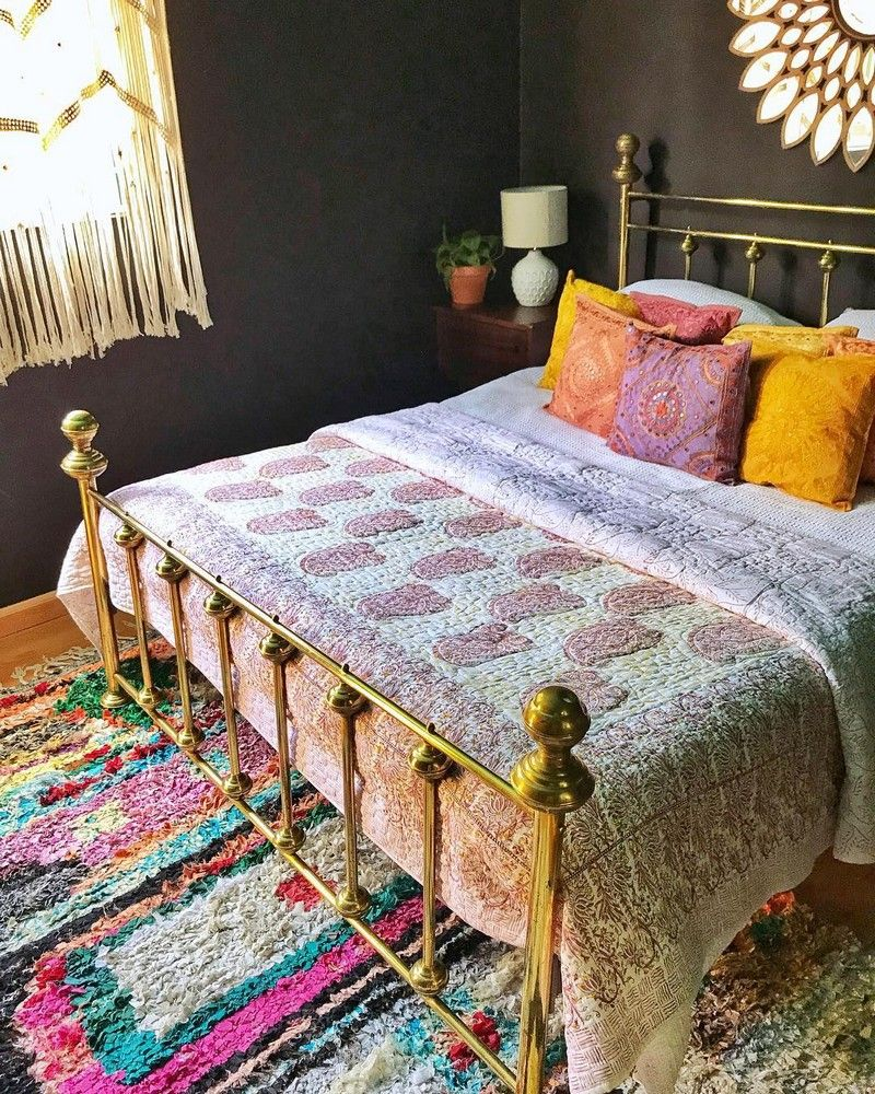 Bohemian Bedroom Decor And Bed Design Ideas #modernbohemianbedrooms
