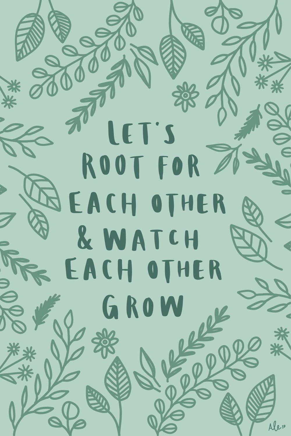 Root Grow Digital Download With Images Words Quotes Happy