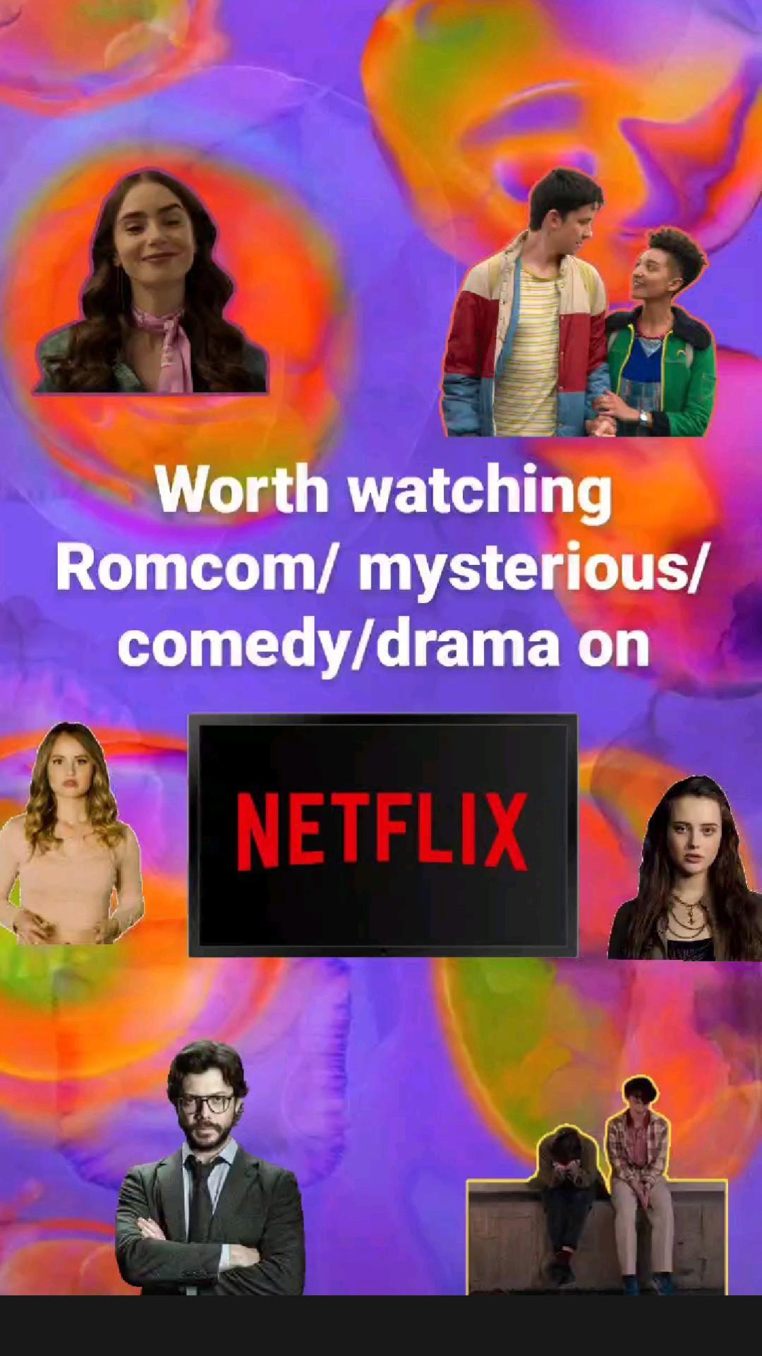 Worth watching series less than 4 seasons on Netflix.