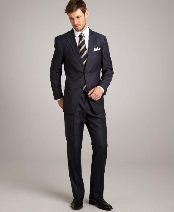 Men's Full Brioni Slim Fit Suit | Mens Fashion (Classy ...