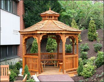 Create Your Own Special Corner Of The World At Fifthroom Com Today Wooden Gazebo Gazebo Gazebo Roof