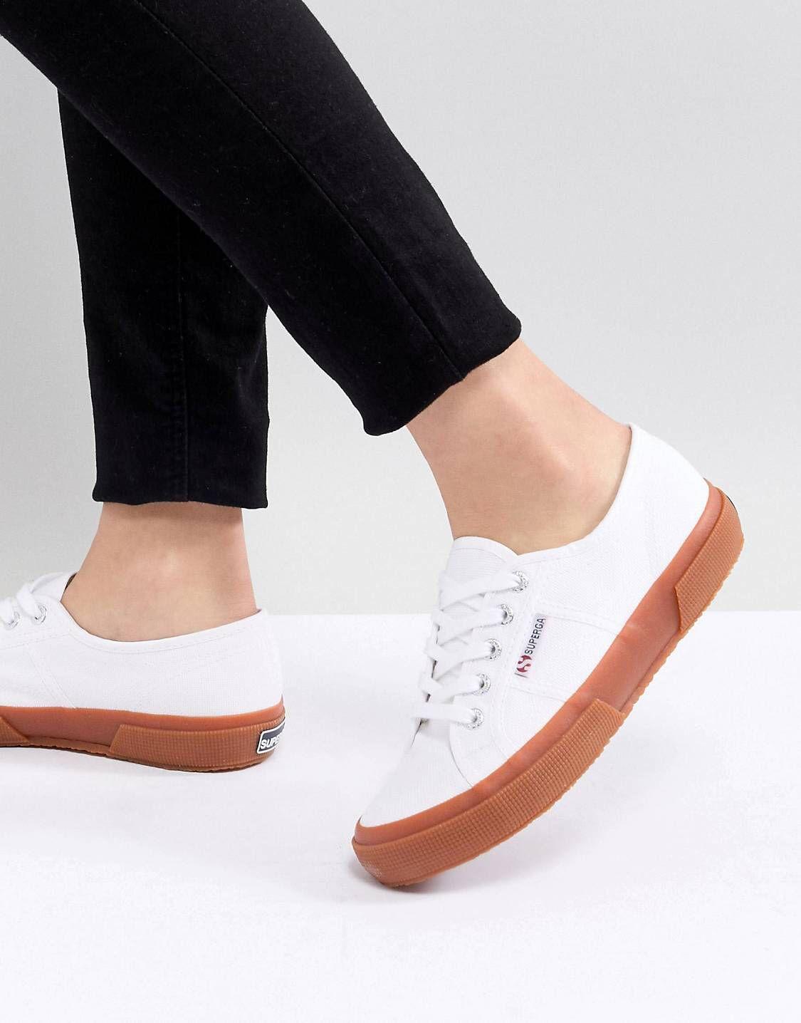 Superga white sneakers, Sneakers, Superga