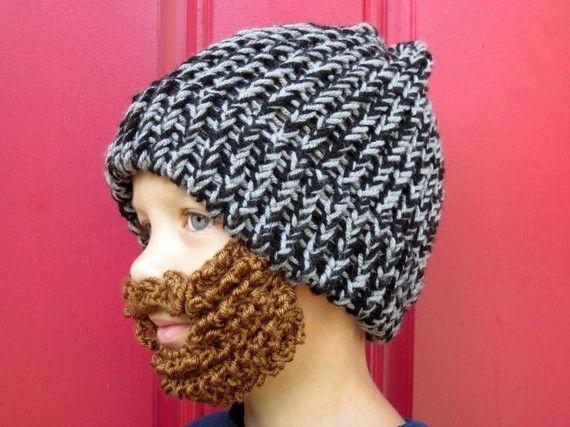 Kids Beard Beanie Kids Beard Hat The Original Beard Beanie Little Man Lumberjack Youth Size Crochet Beard Hat Kids Crochet Beard Diy