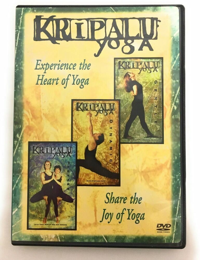 Kripalu Yoga 3 In 1 Dvd Gentle Dynamic Partner Very Good Kripaluyoga Yoga Dvd Kripalu Yoga Yoga