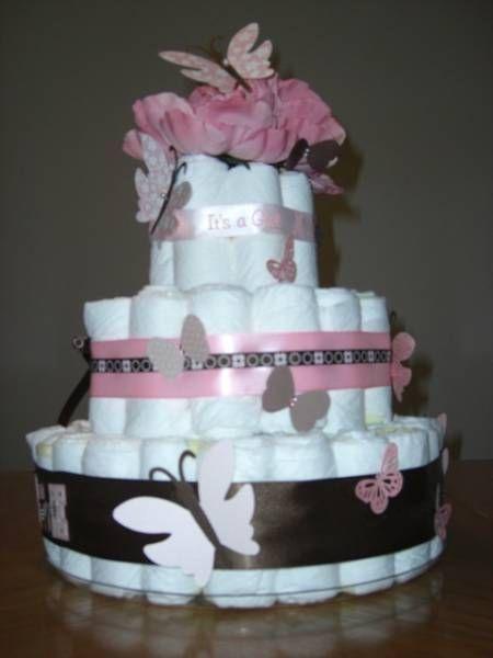 the nappy cake