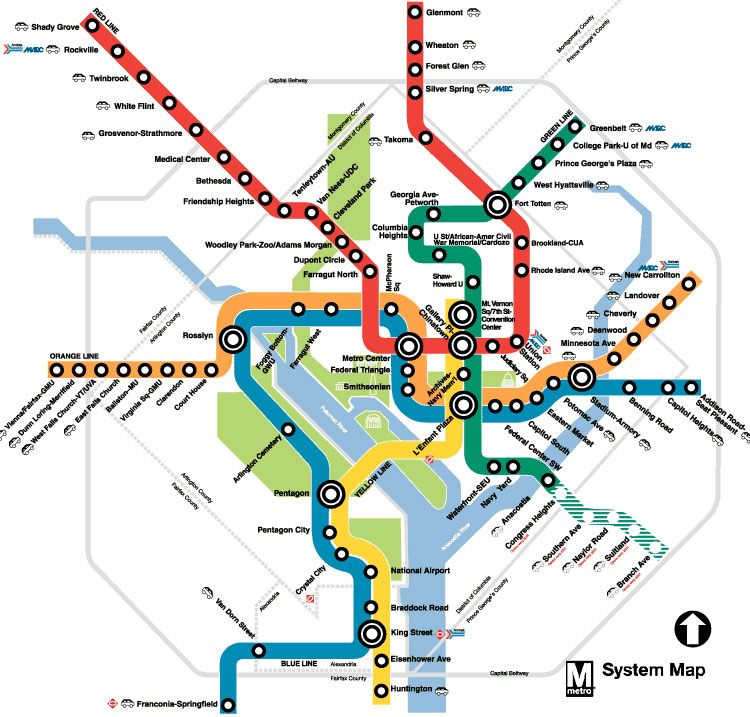 Washington DC Metro Map The Closest Station To Us Is New - Us metro map