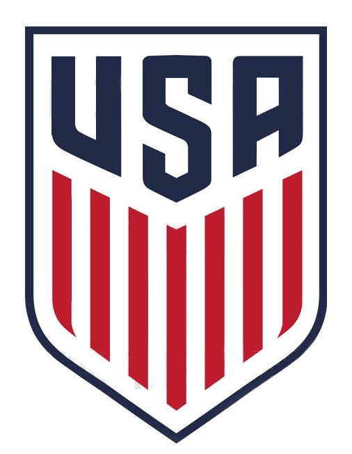 Nuevo Logo Para La Seleccion De Futbol De Estados Unidos Logos De Futbol Bebe De Futbol Futbol