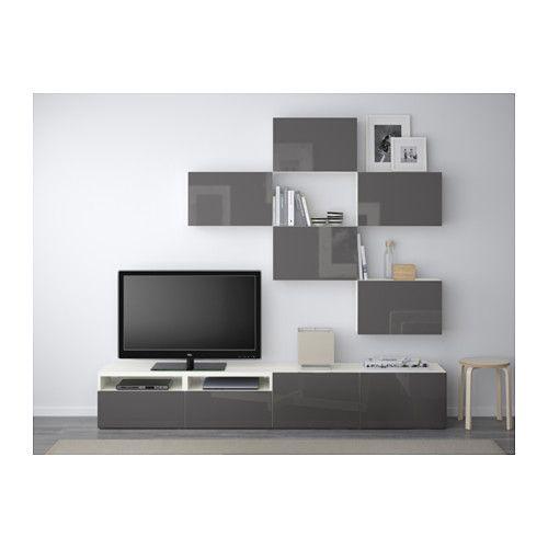 salle de jeux best combinaison meuble tv blanc selsviken brillant gris glissi re tiroir. Black Bedroom Furniture Sets. Home Design Ideas