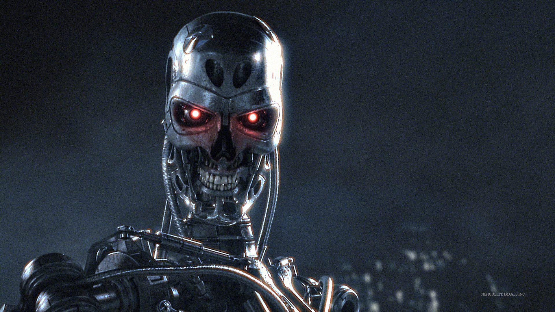 Hd wallpaper robot - Terminator Red Eyes Hd Wallpaper 1920x1080px Wallpaper Robot Movies 38412