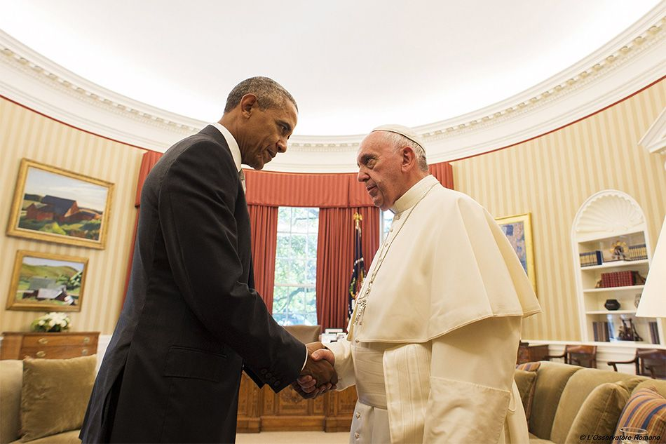 LOOK: Heartwarming, historic scenes in Pope Francis' US visit | ABS-CBN News