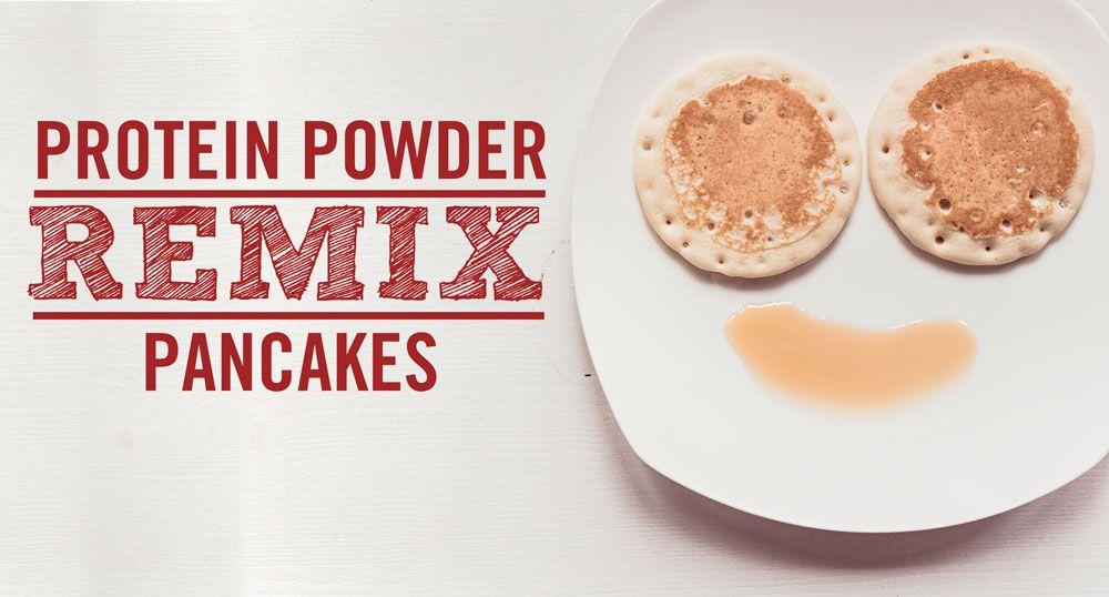Protein Powder Remix: Pancakes #proteinpowderpancakes