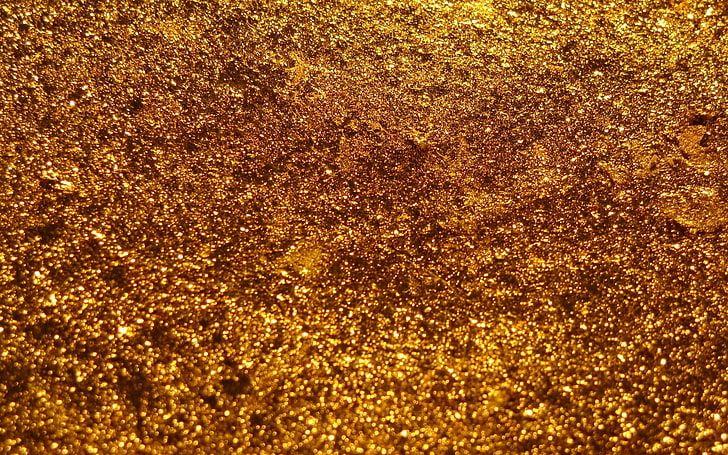 gold glitter, background, texture, surface, sheen, backgrounds HD wallpaper #goldglitterbackground