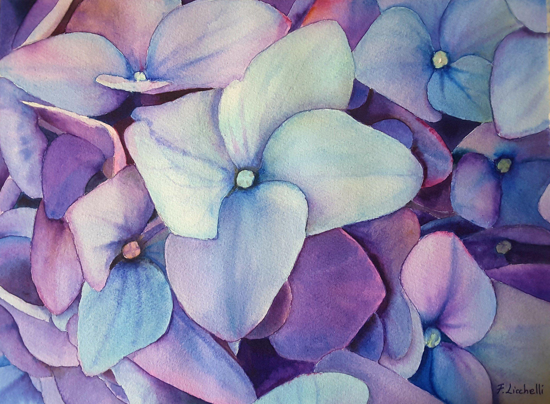 un quadro floreale