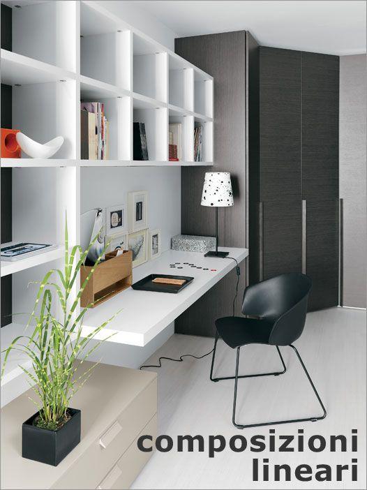Angolo studio nella camera da letto home office for Idee camera studio