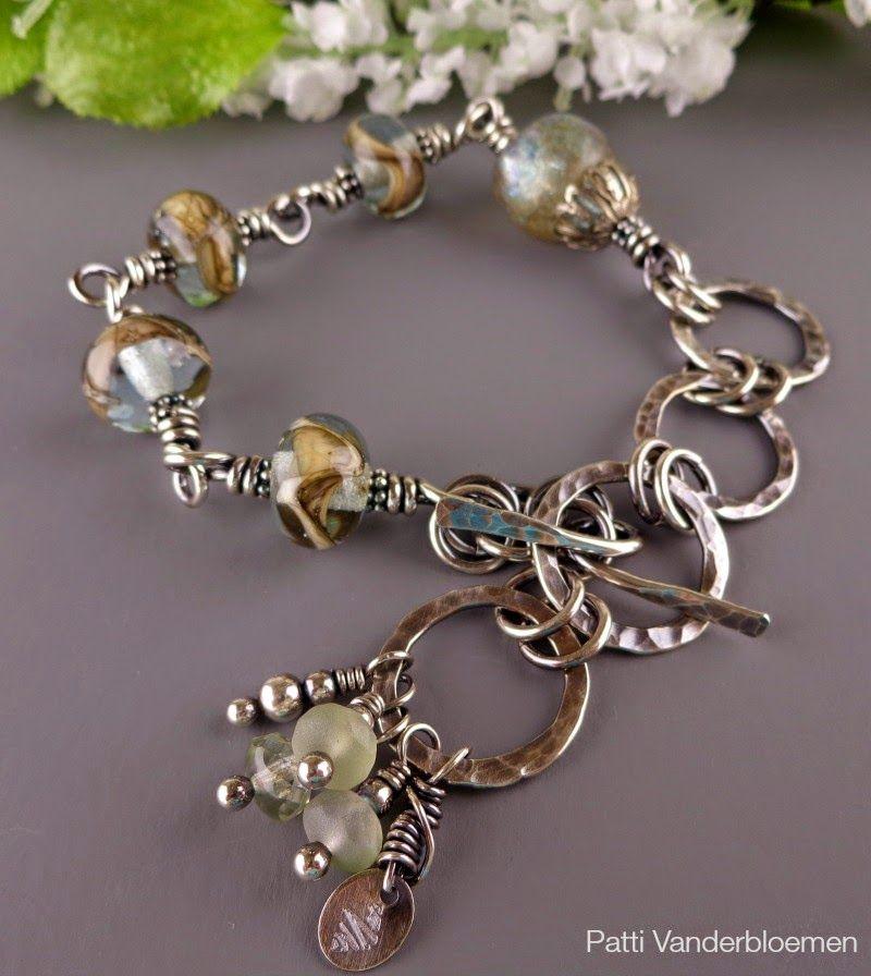 My AddictionsHandcrafted Jewelry by Patti love the dangles from