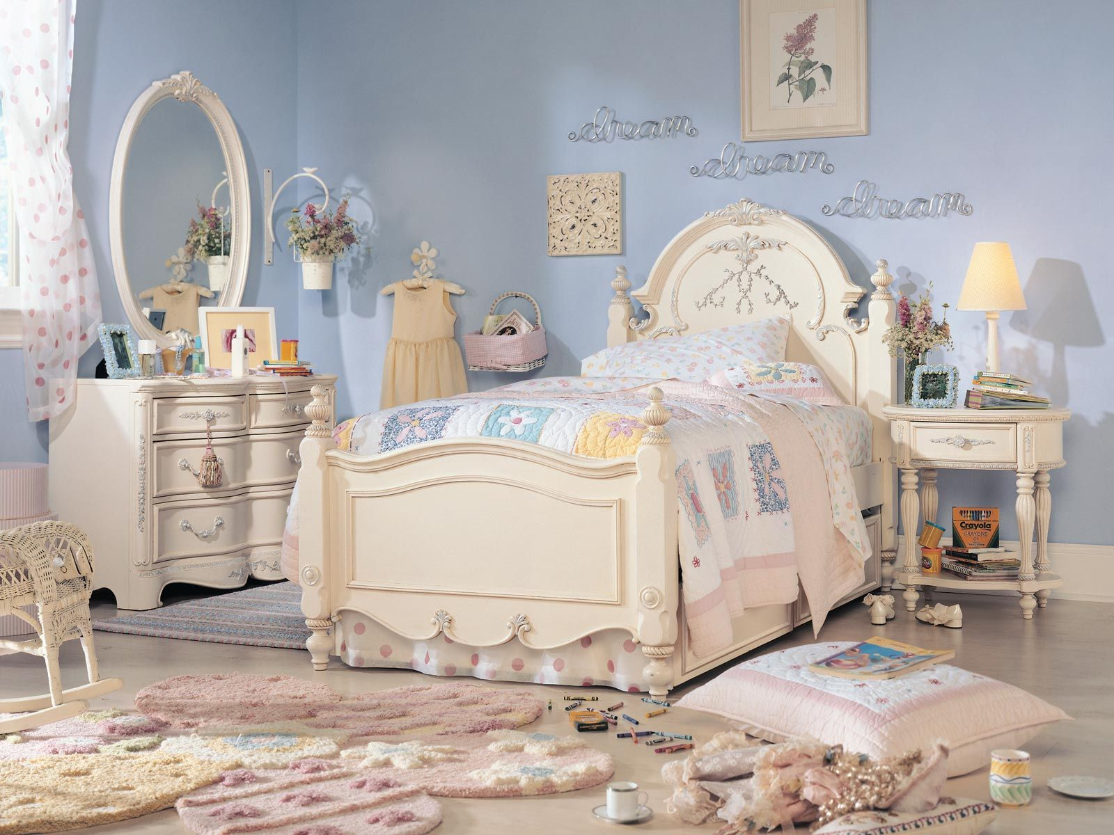 Lea Jessica McClintock Romance Panel Bedroom SALE | Girls ...
