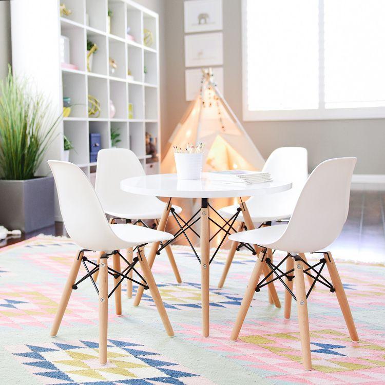 Modern Kids Playroom modern kids table and chairs | . kid spaces . | pinterest | modern