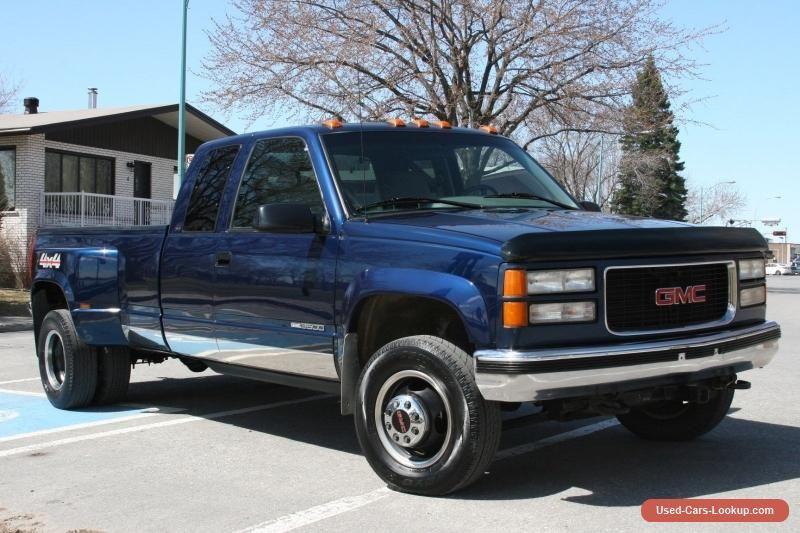 1996 Gmc Sierra 3500 Gmc Sierra3500 Forsale Canada Cars For
