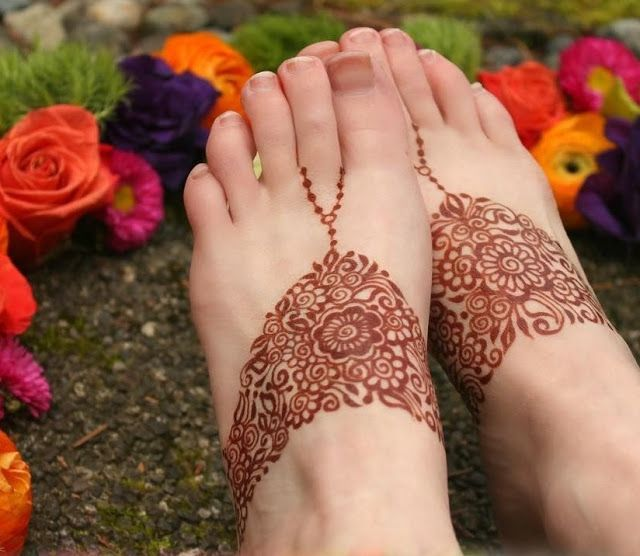 90 Beautiful Leg Mehndi Designs for every occasion || Henna patterns for Feet