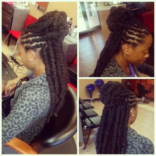 Hairstyles For Long Locs Locs Hairstyles Hair Styles Dreadlock Styles