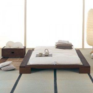 японский матрас футон восточный стиль Japanese Home Decor Tatami Room Bedroom Interior