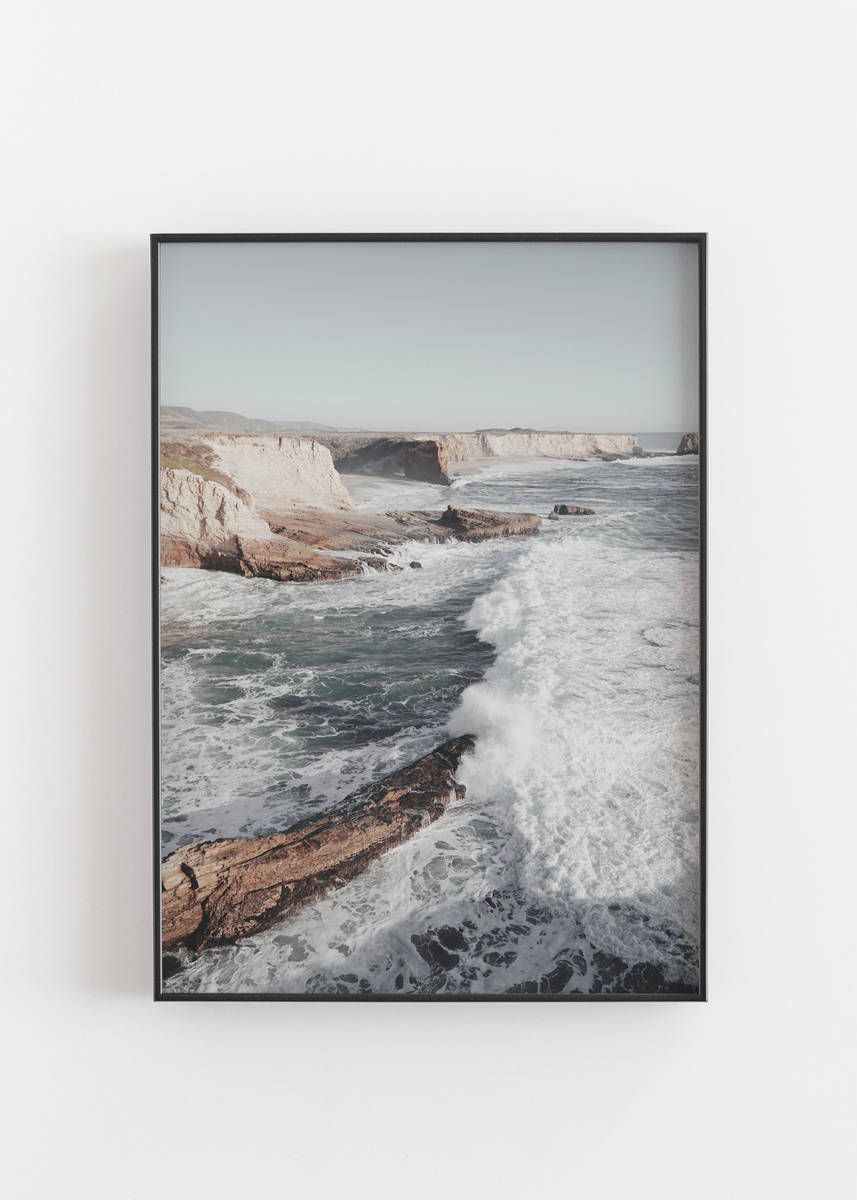 Coastal Print Coastal Poster Prints Coastal Wall Art Coastal Decor Ocean Art Wall Prints Waves Print Ocean Print Coastal Photography Decor In 2019 Coastal Wall Art Wall Prints Wall Art Prints