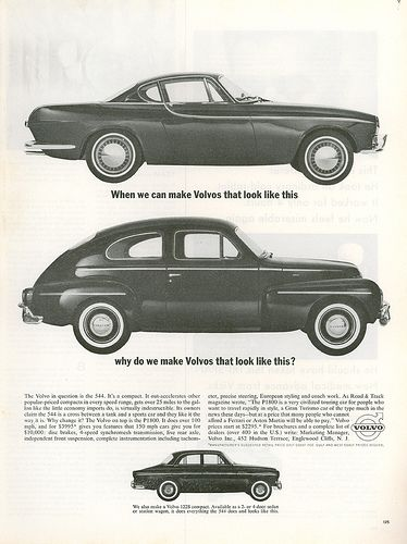 Vintage Volvo advertising