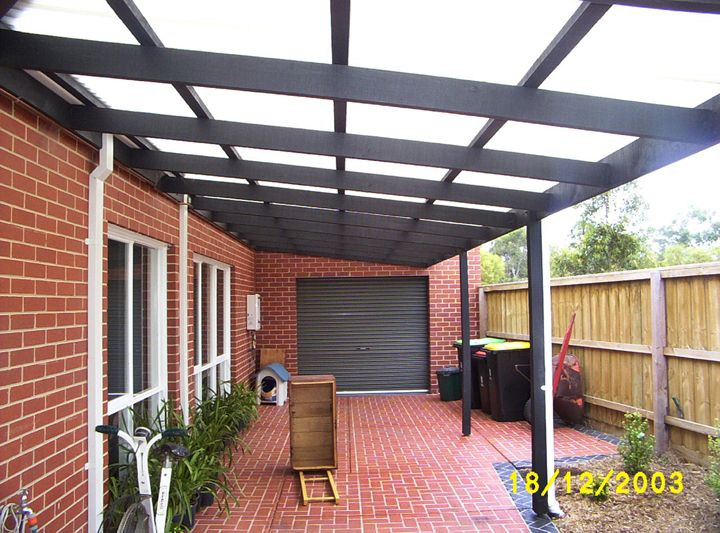 From colorbond to polycarbonate ( laserlite ) to a tiled ...