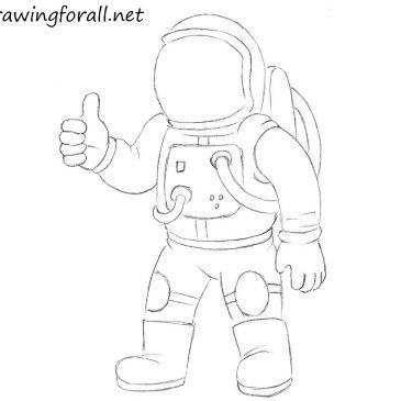 How to Draw Kolobok   A is for...   Astronaut drawing ...