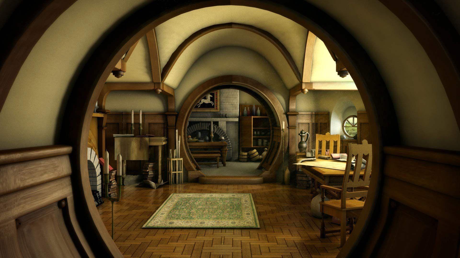 Hobbit House The Hobbit Movie Wallpaper LOTR and The Hobbit