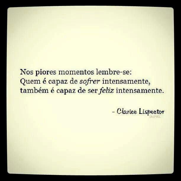Clarice Lispector Quotes Pinterest Frases Frases Inspiradoras