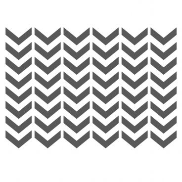 Chevron Stencils Template -small scale- for Crafting furniture DIY ...