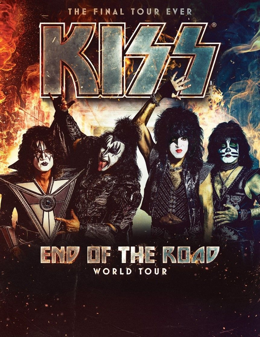 Kiss Announced Today The End Of The Road Comes To Its End Paul Stanley Tours Hot Band