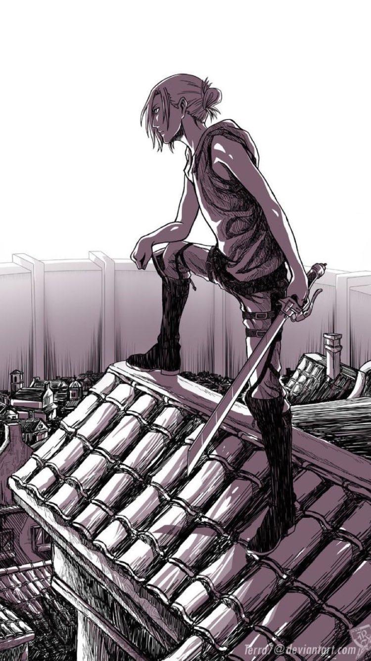 Annie Leonhardt Attack On Titan Shingeki No Kyojin Female Titan