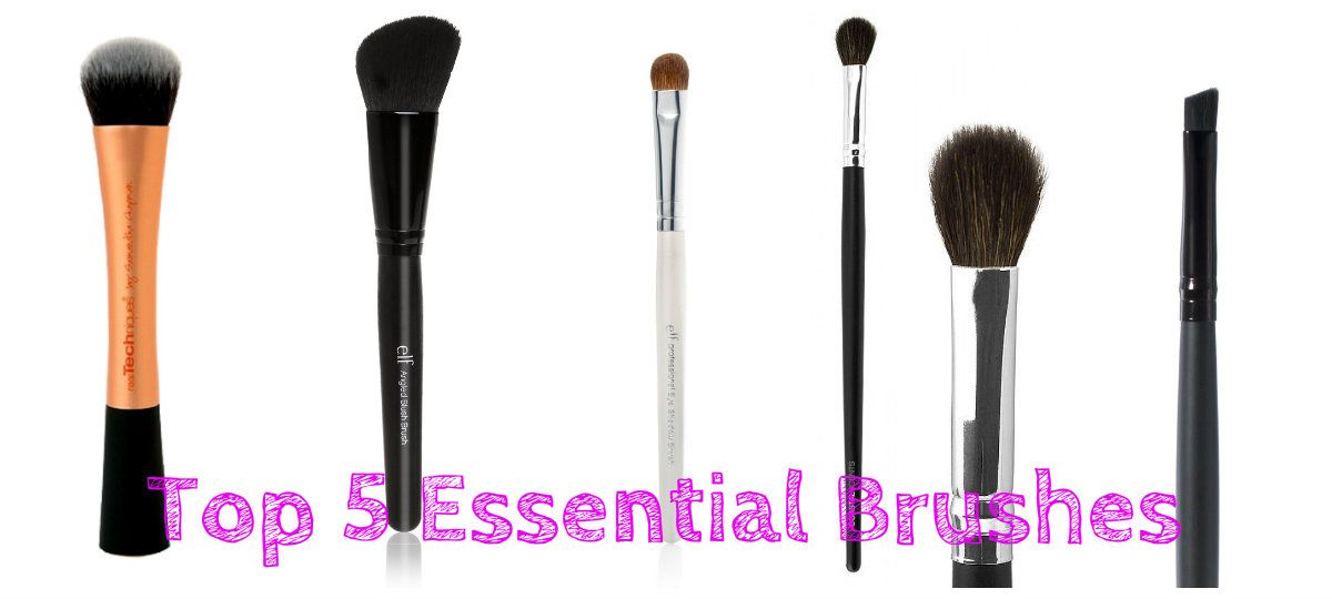 My Top 5 Everyday Makeup Brushes