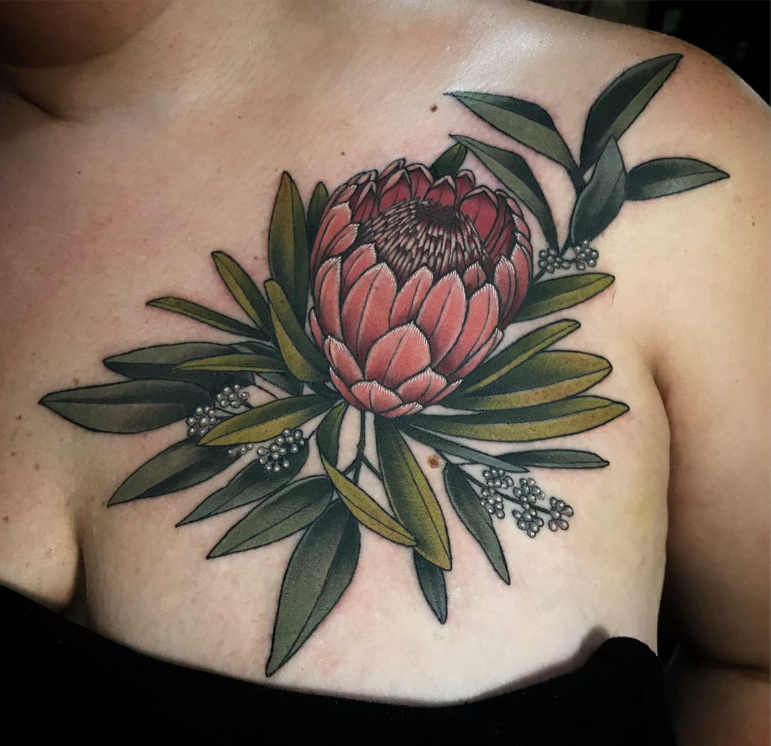 If You Shy Away From Chest Tattoos You Probably Have Two Big Or Small Reasons For Doing So Sure There S Nothing Chest Piece Tattoos Native Tattoos Tattoos