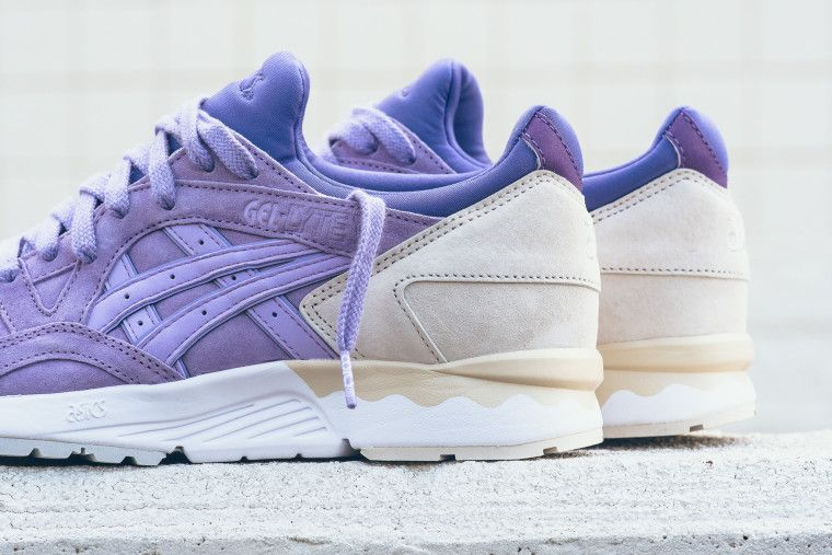 the latest 1370f 9a199 Asics Gel Lyte V Lavender
