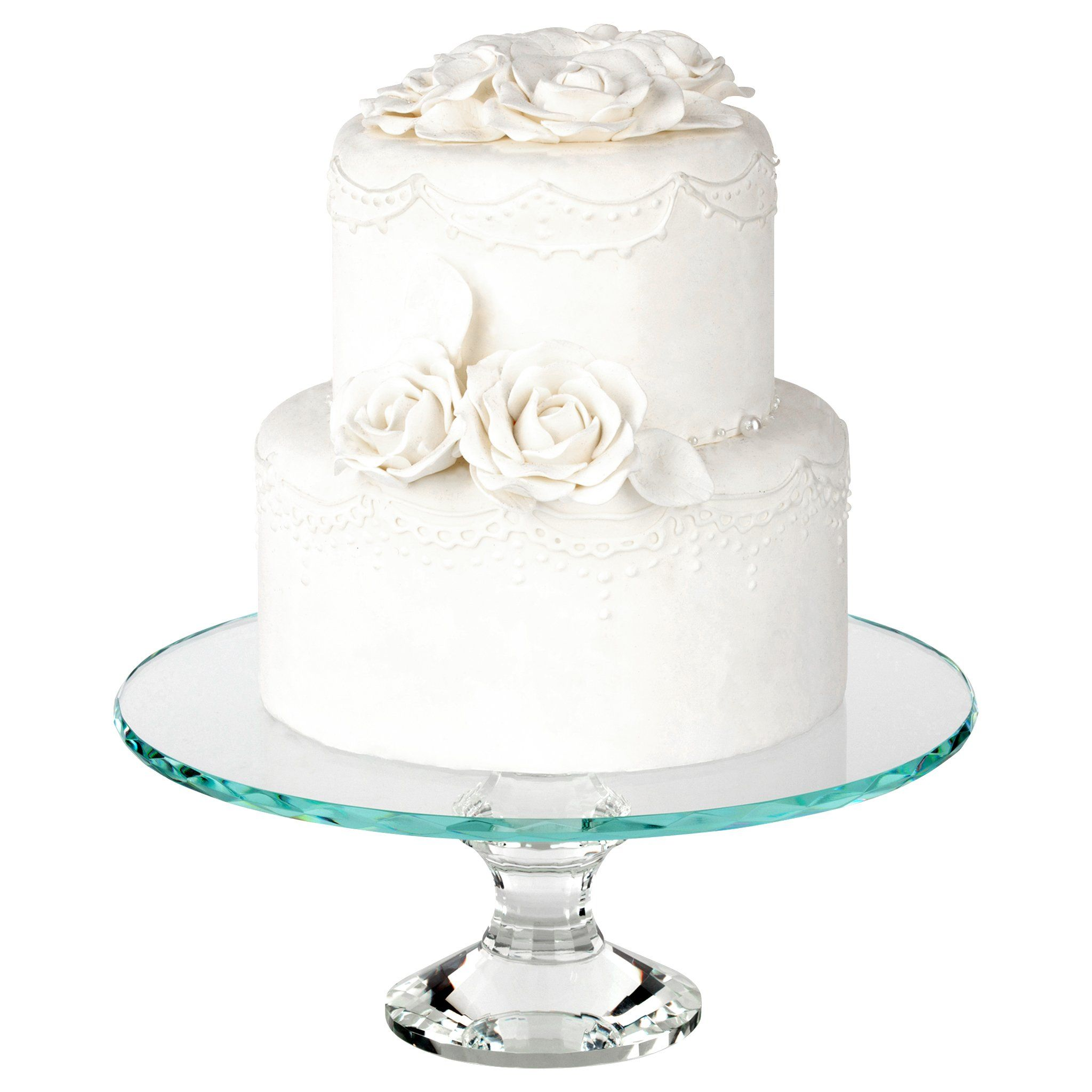 12 Inch Solid Crystal Cake Stand | Crystal cake stand, Wedding cake ...