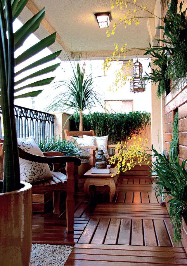 Garden in the balcony