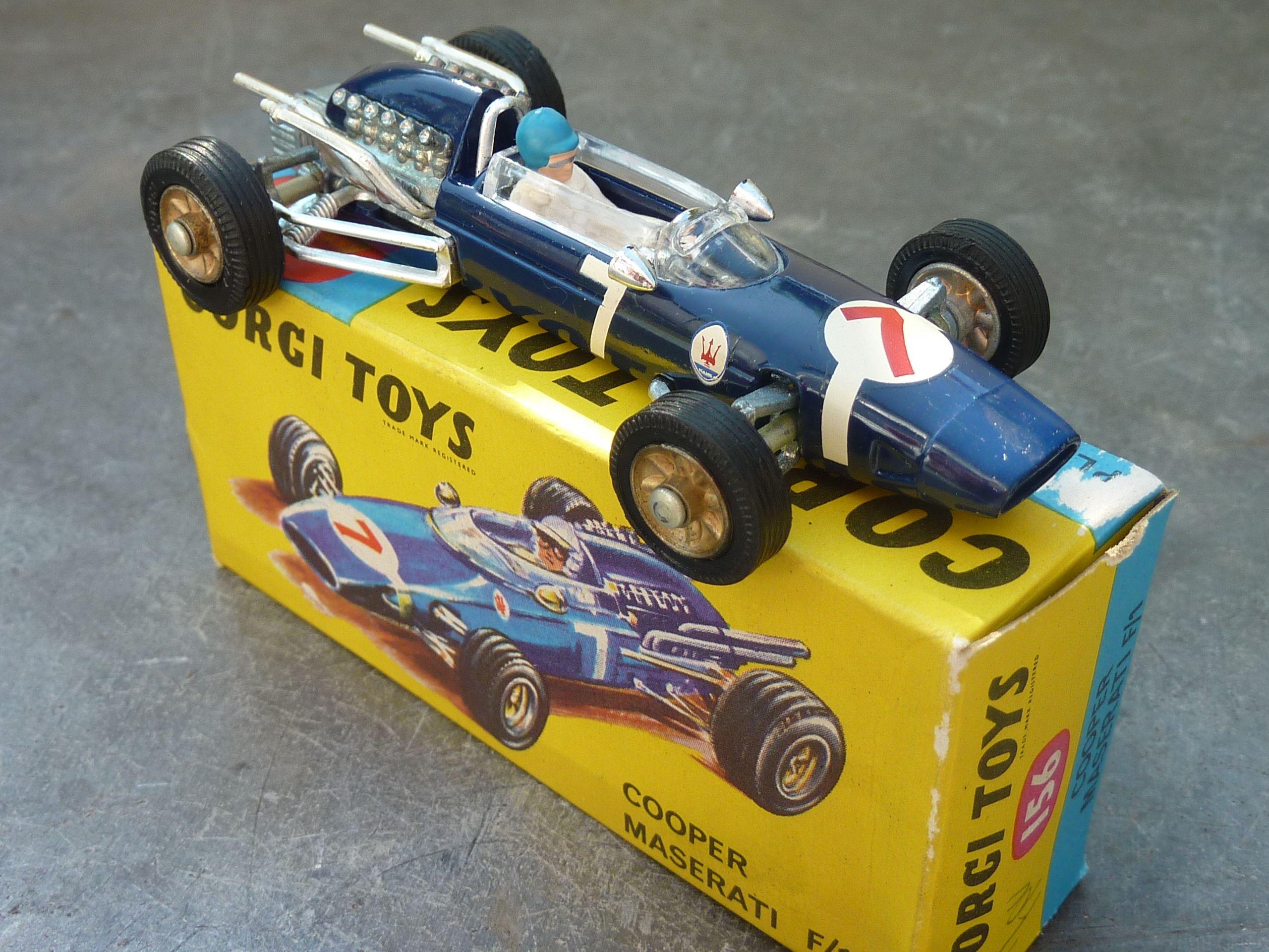 222dbae43ab1 Corgi Toys Cooper Maserati F1 1 43 scale (Made in Great Britain ...