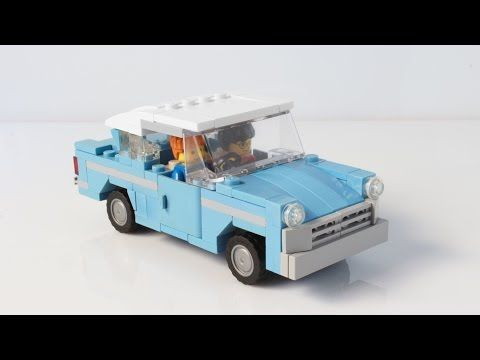 Lego Vintage Car Moc Building Instructions Youtube Lego Lego