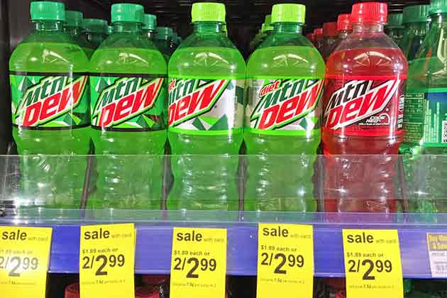 20 American Foods That Are Banned In Other Countries American Food Mountain Dew Food