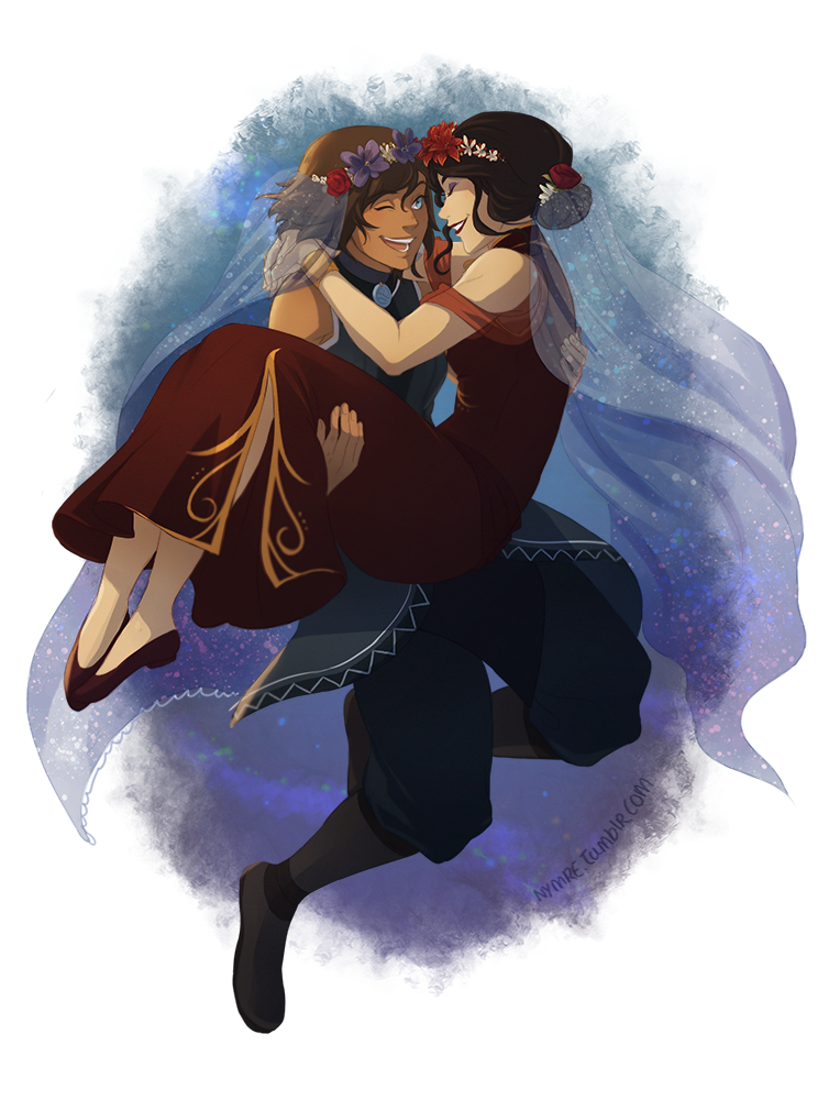 Korrasami The Legend Of Korra Quot Wedding Day Quot By Nymre